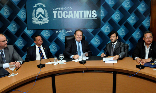 Governador Mauro Carlesse comemorou o anúncio de novas rotas e pediu que as companhias reduzam preço das passagens