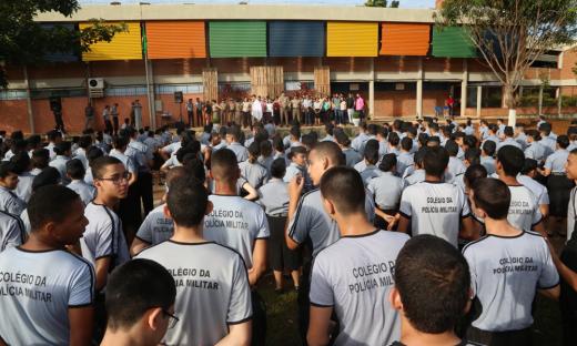 Solenidade aconteceu, na manhã desta sexta-feira, no Colégio da Polícia Militar Unidade II, em Palmas