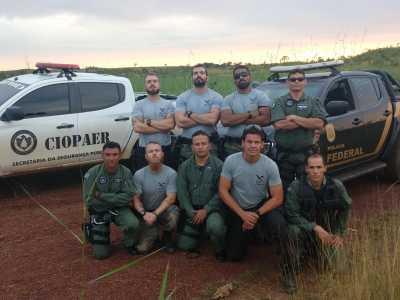 Equipes do CIOPAER e GPI da Polícia Federal realizam qualificação recíproca para ações conjuntas
