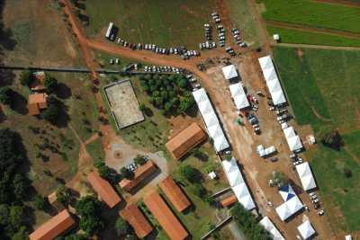 5ª Agrosudeste : Registro aéreo do veículo aéreo não tripulado (VANT) utiliado pela Semarh no monitoramento do CAR