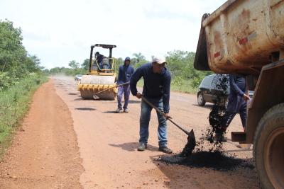 Força-tarefa contará com serviços de tapa-buracos, roçagem e terraplenagem