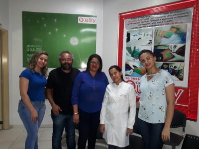 Parceria firmada entre Colégio Estadual Osvaldo Franco e Laboratório Quality garante premiação de alunos destaque