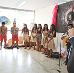 Robson Vila Nova falou sobre as políticas públicas indígenas desenvolvidas pela Seduc
