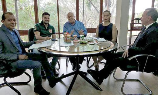 Executivos destacam participação na Agrotins com o secretário Ridoval