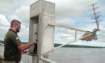 Novos radares serão instalados na bacia do rio Formoso visando modernizar o monitoramento