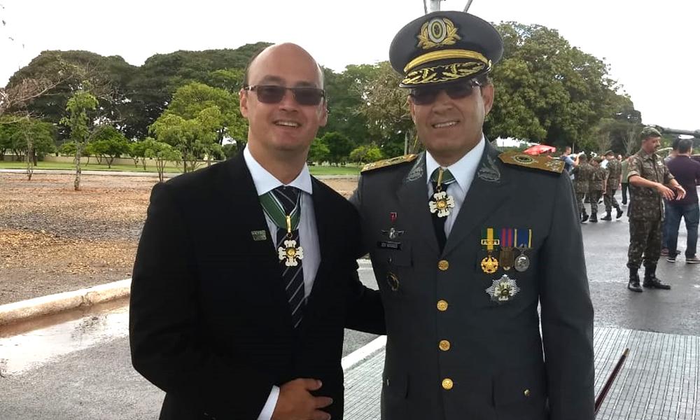 8a5192abca Secretário de Segurança Pública do Tocantins recebe mais alta ...