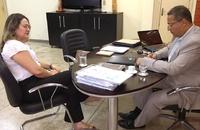 Ana Lúcia e Tom Lyra discutiram a aproximação entre Governo e Universidade