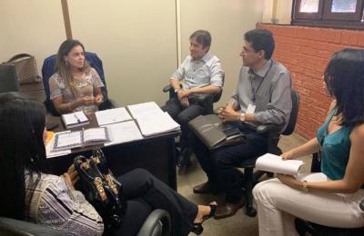 Nesta quarta-feira, 17,  foi realizada segunda reunião para discutir serviço de abastecimento e esgoto