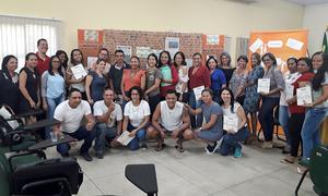 Professores de seis municípios participaram da formação promovida pela DRE