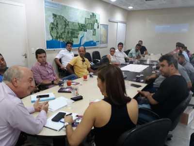 Reunião com os expositores tratou dos últimos detalhes para participação no evento