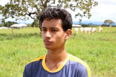 Lucas Cardoso, aluno do 3º ano do ensino médio, defende que as aulas nas salas temáticas aproxima mais dos conteúdos