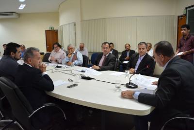 O secretário Senivan Almeida de Arruda tomou posse como  membro titular do Conselho