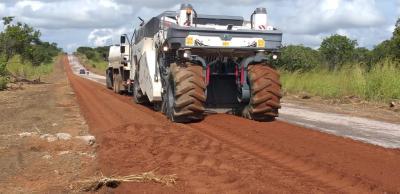 Esse trecho faz parte de um pacote de obras que beneficiará a malha viária do Sudeste do Tocantins