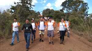 Parque do Lajeado recebe formandos do curso de condutor ambiental para aula prática_Foto (1) Priscila Rosa_300.jpg