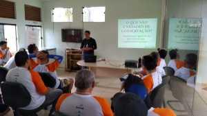 Parque do Lajeado recebe formandos do curso de condutor ambiental para aula prática_Foto (5) Priscila Rosa_300.jpg