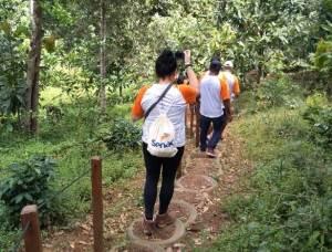 Parque do Lajeado recebe formandos do curso de condutor ambiental para aula prática_Foto (6) Priscila Rosa_300.jpg
