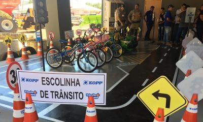 Escola de trânsito atenderá crianças visitantes da Agrotins