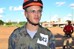 Soldado Joanne Lazaro Facundes diz que conhecimentos levarão um resultado positivo para a sociedade