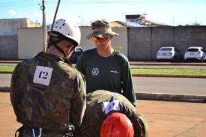Major Denis Dalla orienta a equipe. Para ele, a capacitação é um marco para o Tocantins