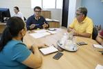 Zimmermann e Vieira fizeram a primeira reunião de trabalho entre Iphan e Adetuc