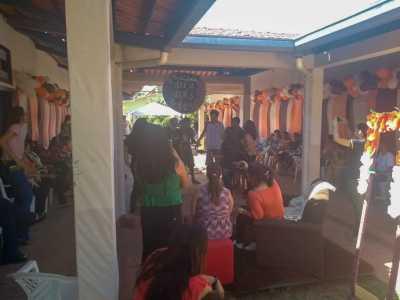 Confraternização entre socioeducandos e seus familiares no Case de Palmas