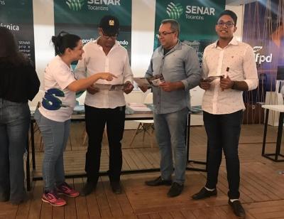 Na busca de parcerias, gestores do Sispen/TO estiveram em reuniões junto à equipe de servidores do Senar