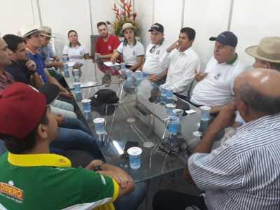 Foto/Divulgação-Secretário ouve demandas da classe empresarial durante encontro na Agrotins
