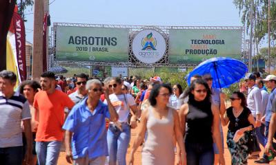 Público prestigia evento e conhece produtos, equipamentos e serviços do agronegócio tocantinense.