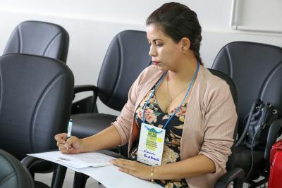Coordenadora Carina Dias da Silva, de Rio da Conceição