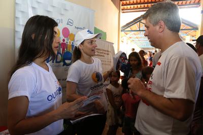 Controladoria foi parceira da Defensoria em ação social no Taquari