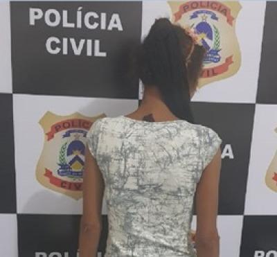 Mulher suspeita de aplicar vários golpes utilizando cartão bancário furtado é presa pela Polícia Civil em Xambioá