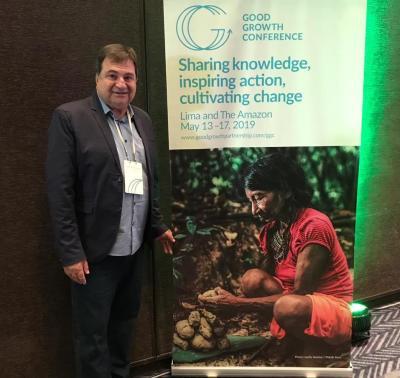 César Halum em vento mundial que compartilha conhecimento com ações inspiradoras
