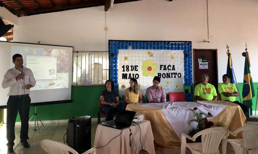Seminário contou com a participação de representantes das redes de proteção da criança e adolescente