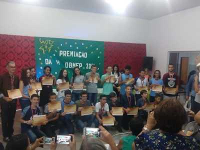 Estudantes destaques na Obmep são premiados em Gurupi