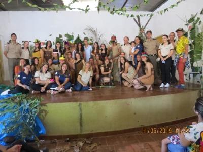 Primeira Feira Literária no CPM de Colinas