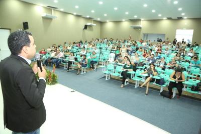 Secretário executivo da Seduc Robson Vila Nova Lopes apresentou o regime de colaboração na educação