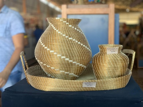 Edital abre vaga para o artesanato em capim dourado