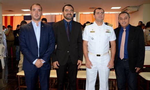 Vice-governador Wanderlei Barbosa parabeniza Capitania Fluvial Araguaia Tocantins pelo 19º aniversário no Estado