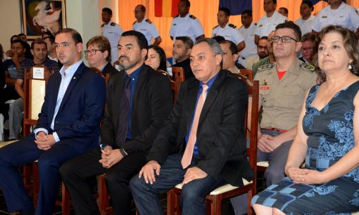 cerimônia do 19º aniversário da Capitania Fluvial Araguaia Tocantins