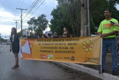 O objetivo da campanha anual é ressaltar a responsabilidade do poder público e da sociedade na implementação do Plano Nacional de Enfrentamento à Violência Sexual contra Crianças e Adolescentes