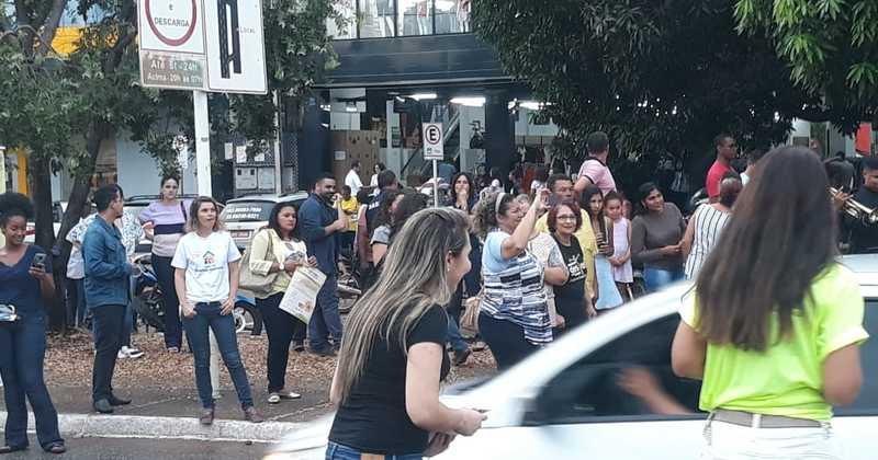 Blitz aconteceu na avenida JK e teve como dinâmicas ações em alusão ao Dia de combate à exploração e abuso sexual de crianças e adolescentes