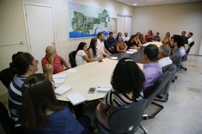 A Agência de Desenvolvimento do Turismo, Cultura e Economia Criativa recebeu a visita dos técnicos da Controladoria