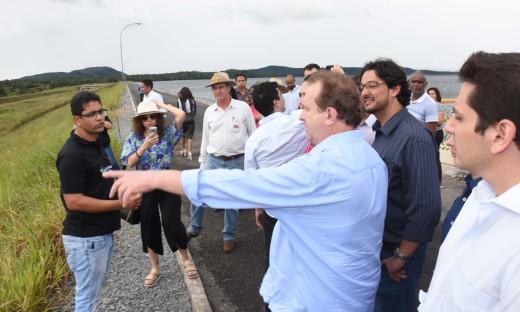Governador Carlesse visita projeto Manoel Alves região de Dianoplis