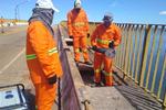 Após conclusão do laudo técnico, Governo está fazendo manutenção na ponte de Porto Nacional para reabrir o tráfego para veículos leves