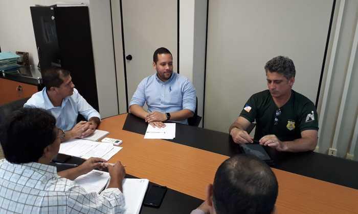 Presidente do Naturatins, Marcelo Falcão Soares deu as boas-vindas ao novo integrante