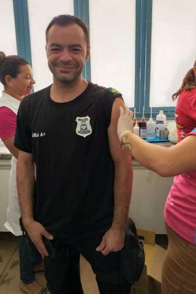 Servidores da Unidade Prisional de Cariri foram inclusos no grupo a serem vacinados