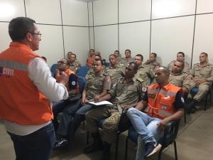Reunião aconteceu na sede da Defesa Civil