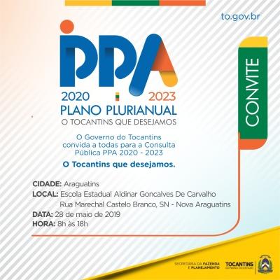 Consulta Pública será na Escola Aldinar Gonçalves de Carvalho