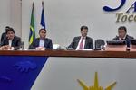 O secretário informou que algumas já foram retomadas, a exemplo da obra do Hospital Geral de Gurupi, das Escolas de Tempo Integral de Araguaína e de Ananás, bem como algumas obras civis na Capital