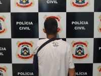 Suspeito de praticar vários assaltos em Taquaralto é preso pela Polícia Civil em Palmas